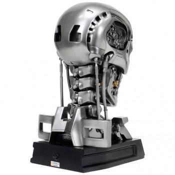 T-800 Endoskeleton taille 1:1 Bust signé Arnold Schwarzenegger édition limitée