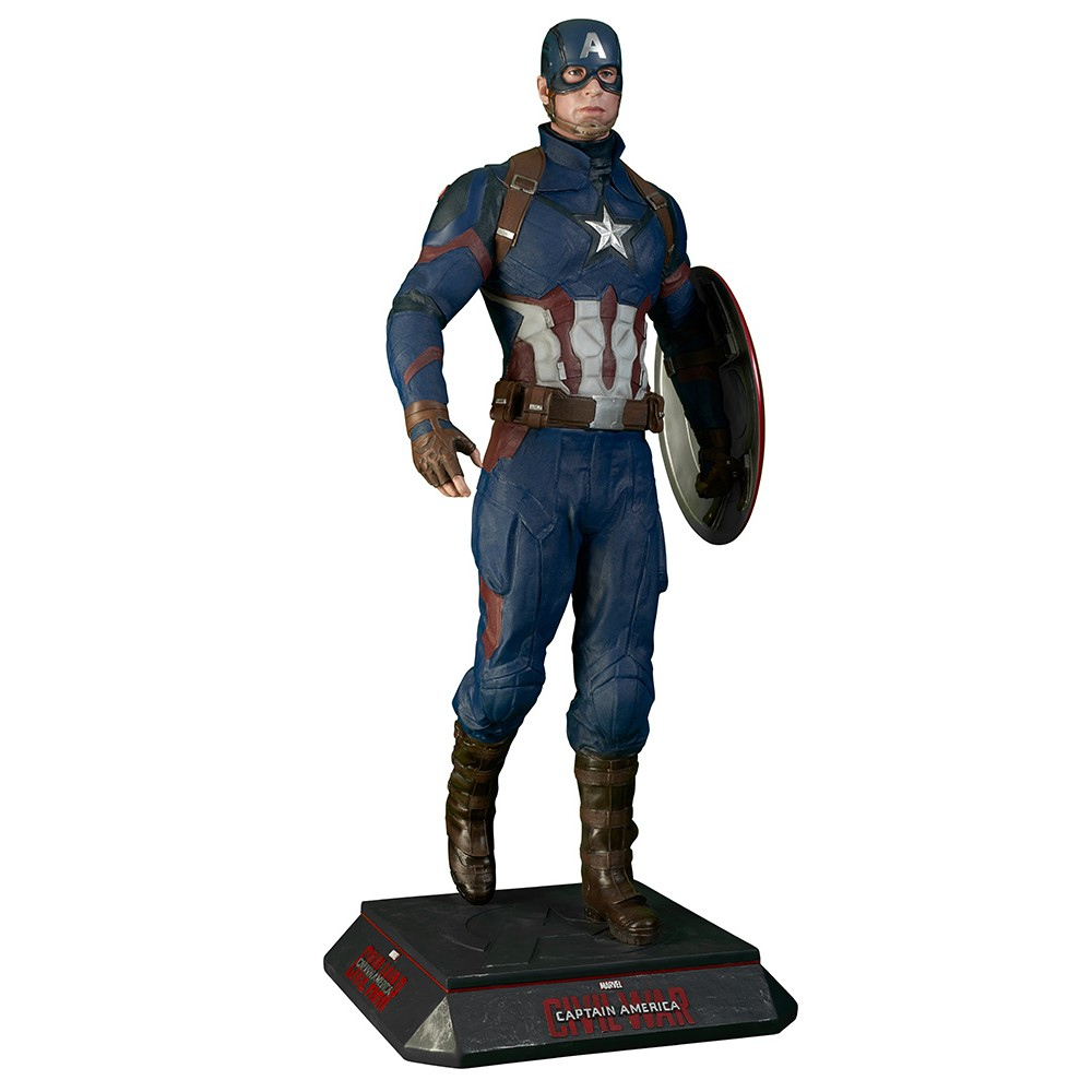 Captain America - Civil War Statue Taille réelle