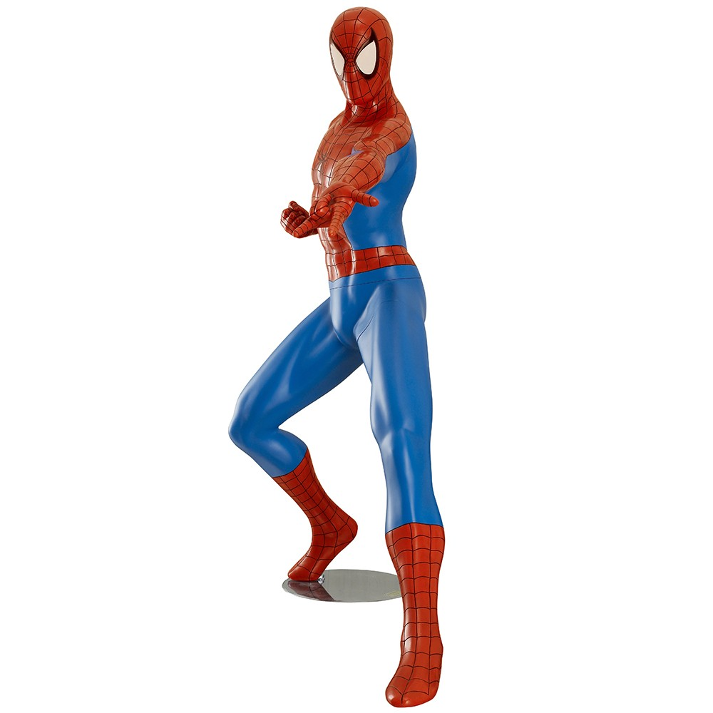 Spider-Man version Comics  Statue Taille réelle