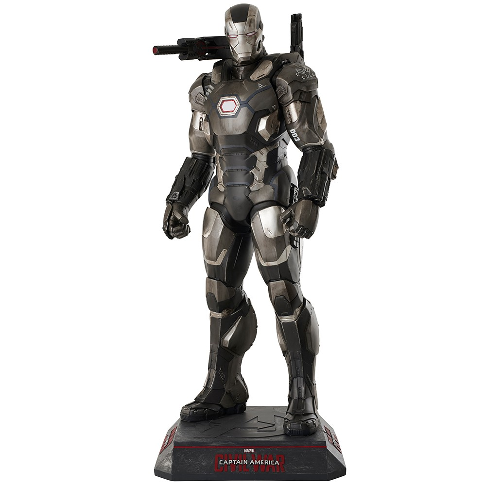 War Machine - Captain America - Civil War Statue T...