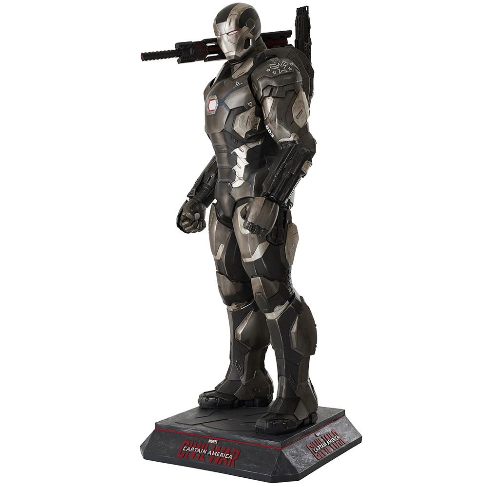 War Machine - Captain America - Civil War Statue Taille réelle