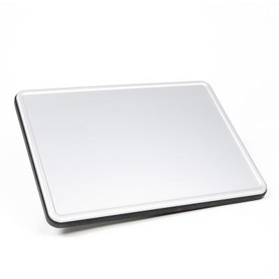 Tablette pivotante en aluminium
