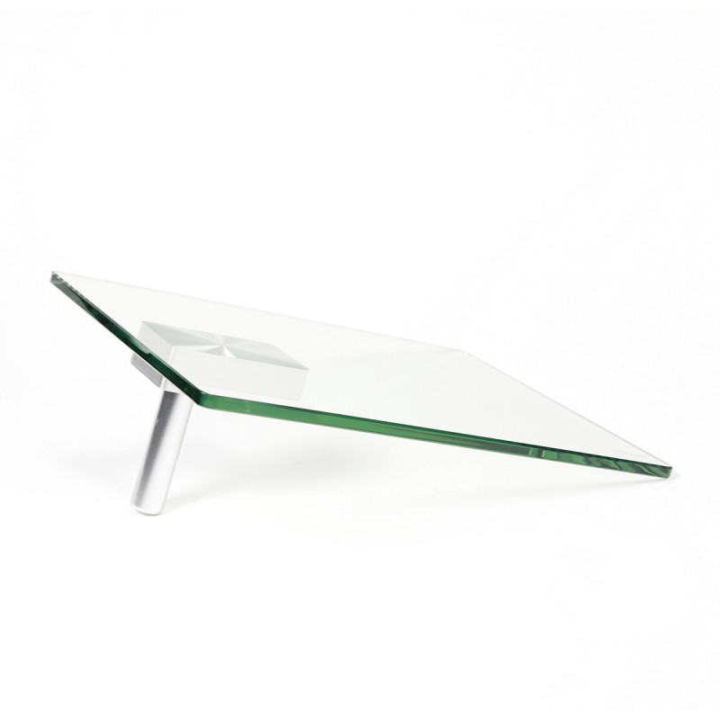 Glass Swivel Table