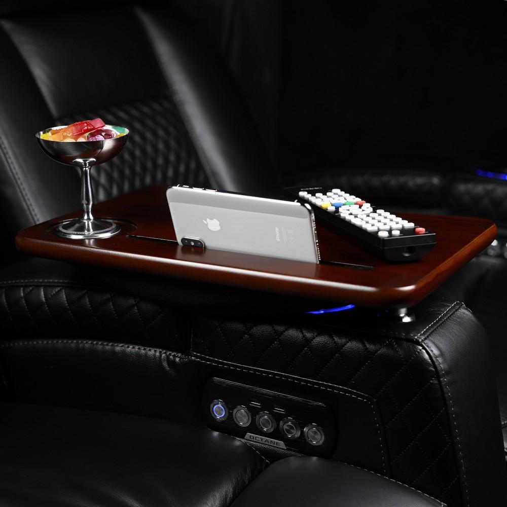 Walnut Swivel & Lap Table